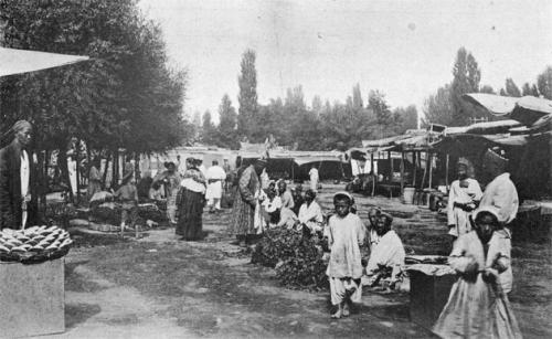 Овощные базары в старину