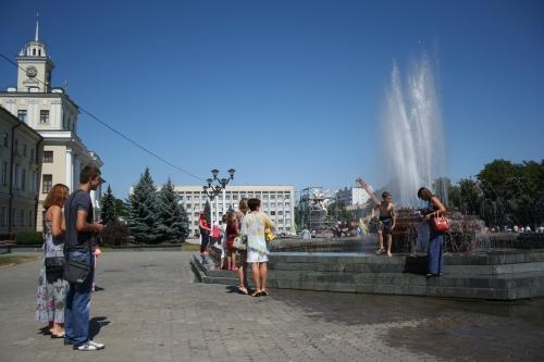 Площадь в Хмельницком