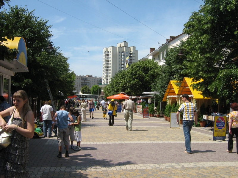 Улицы Хмельницкого