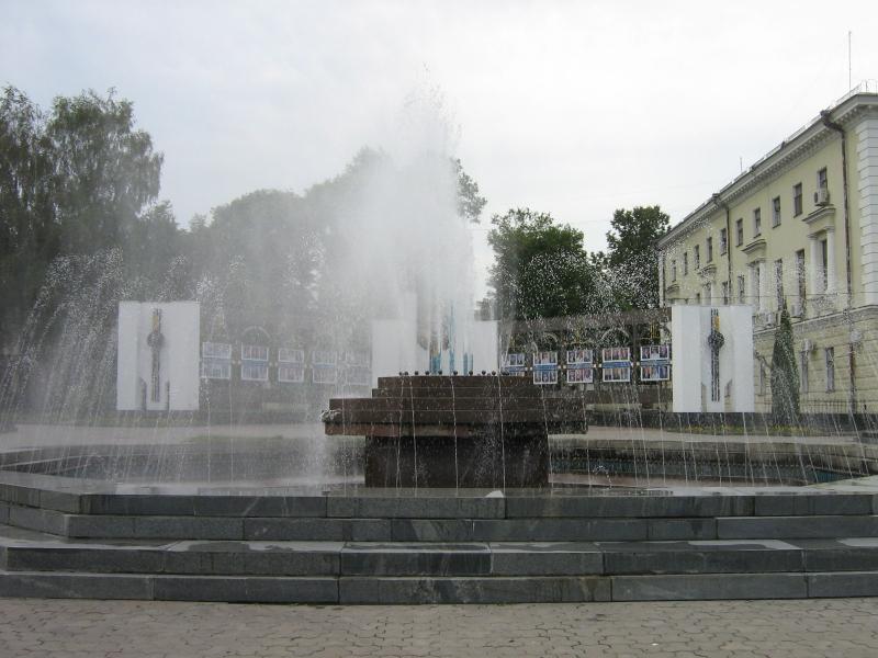 Фонтан в Хмельницком