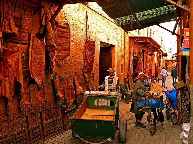 Марракеш базар